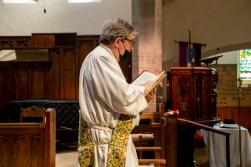 Gospel Reading. Area Confirmations, St. Andrew's Episcopal Church, Kansas City. Image credit: Mary Ann Teschan