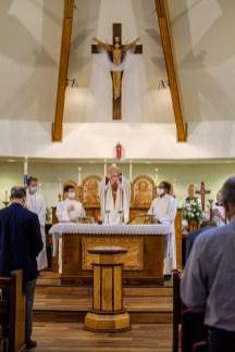 Holy Eucharist. Re-Dedication and Consecration of St. James Episcopal Church, Springfield, Missouri. Image credit: Gary Allman