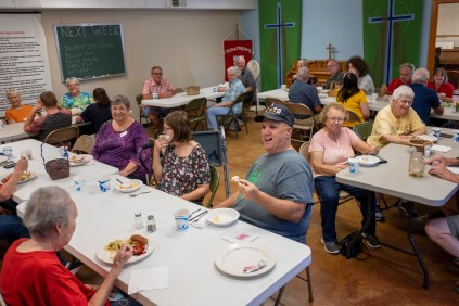 Community Supper. Image: Gary Allman