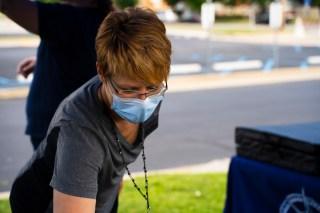 Greene County Health Department Worker. Image: Franz Ginsberg