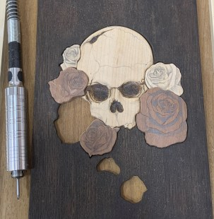 Dremel carving