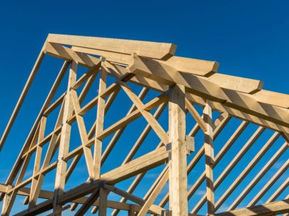 A new building construction. A wise or foolish builder?