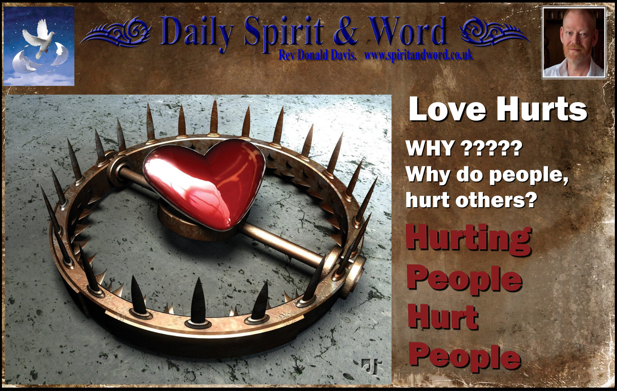 Hurting People Hurt People Daily Spirit And Word