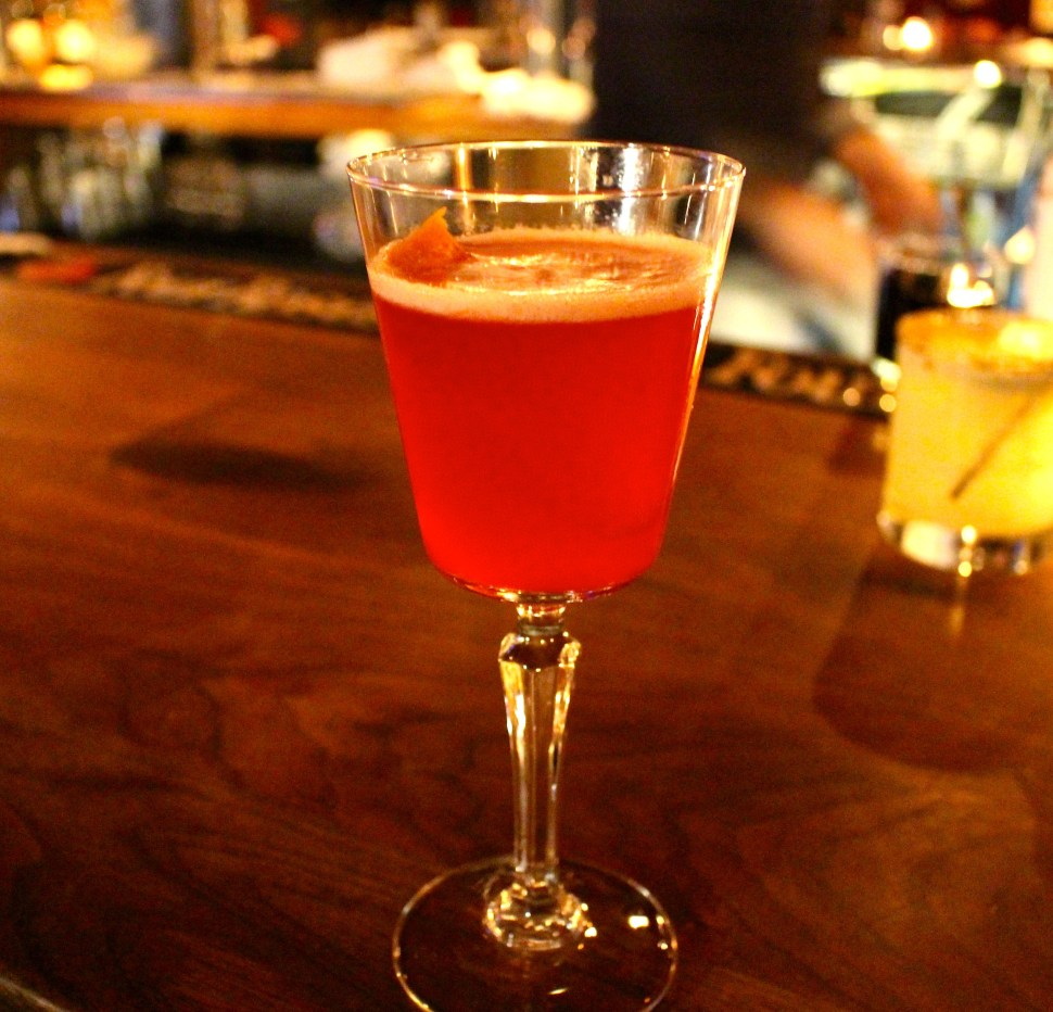SpiritedLA reviews the engine room in Mystic, CT. Drink: Blind Eyes Could Blaze