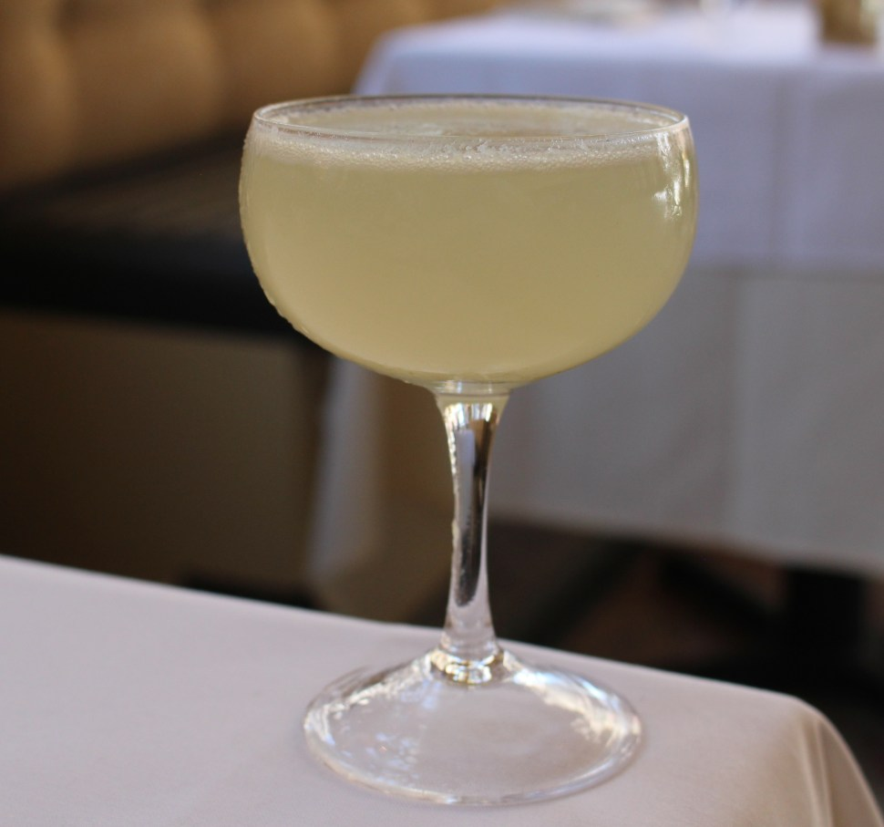Westminster Revival cocktail at The Dorrance with SpiritedLA