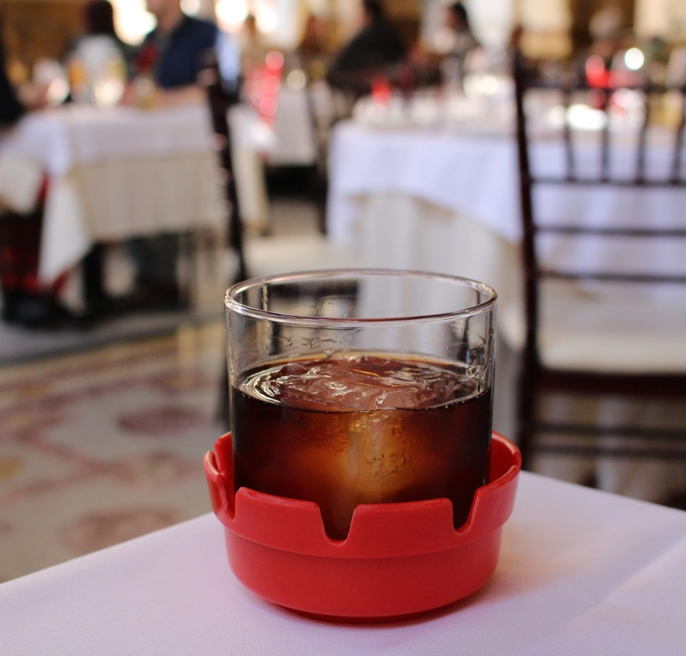 The Smoking Gun Cocktail at The Dorrance with SpiritedLA