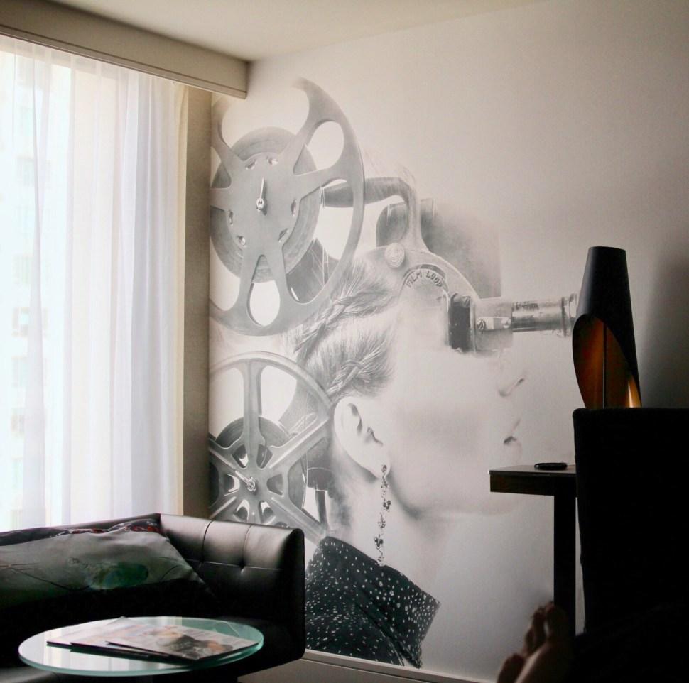 A room at the Palomar Beverly Hills, a Kimpton hotel. Photo: SpiritedLA