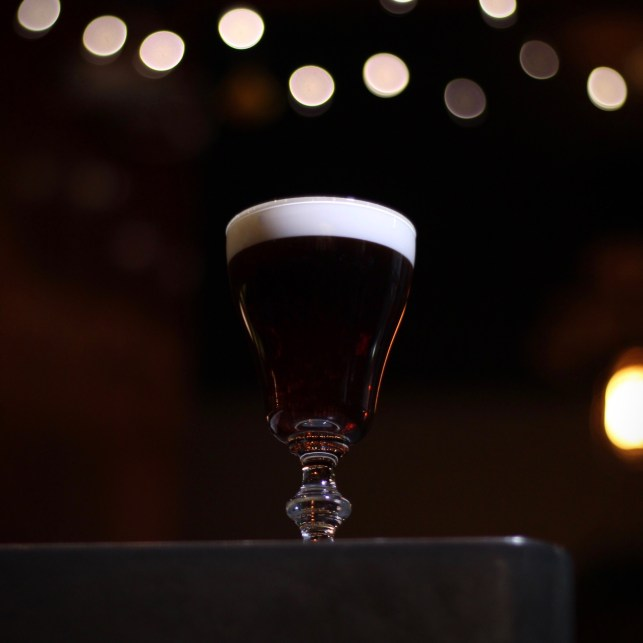 Irish Coffee at Elm City Social. Photo by SpiritedLA.
