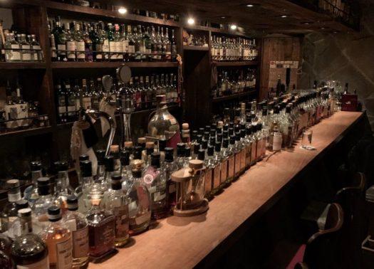 The bar at The Mash Tun Tokyo