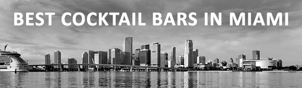 Best Cocktail Bars In Miami