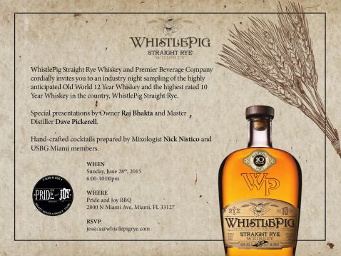 You Re Invited Whistlepig Straight Rye Whiskey Wants You To Taste