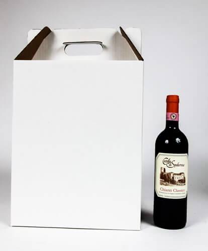 wine carrier for six bottles