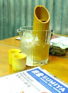sumiya bamboo sake