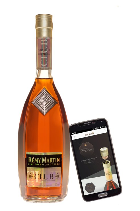 Remy Martin Club Connected Bottle