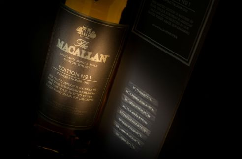 macallan edition no1 carton box
