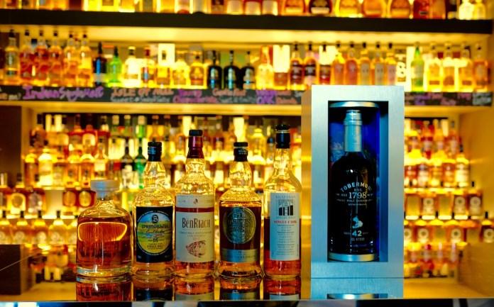 quaich bar south beach whiskies