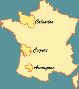 Cognac, Armagnac and Calvados