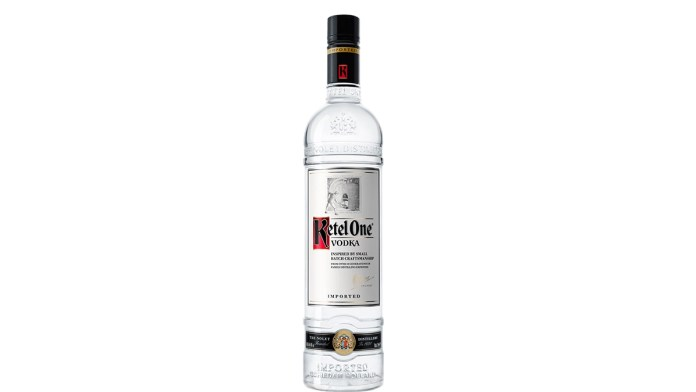 Ketel One Vodka bottle