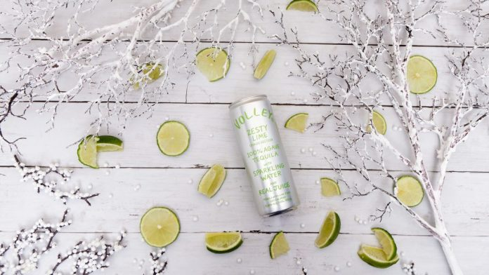Volley Hard Seltzer lime - What's in a canned cocktail