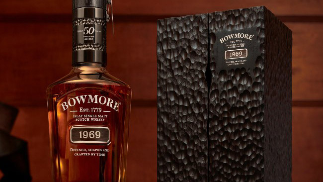 """Bowmore Unveils """"Ultimate"""" Collection, Including $47,000 1969 Whisky"""
