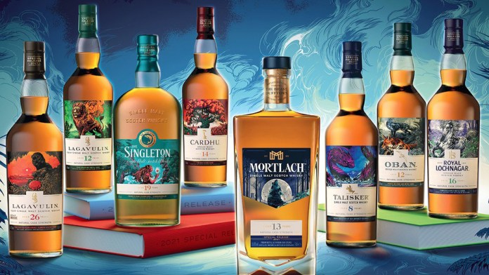 Diageo Untold Legends Special Editions Collection 2021