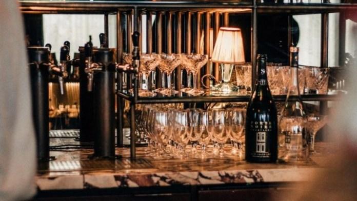 Idris Elba Opening His Porte Noire Bar In London