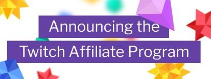 Twitch lance son programme d'affiliation