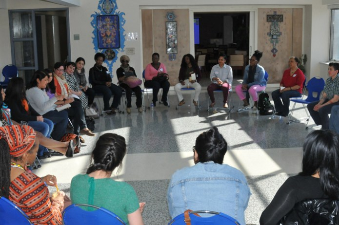Workshop Participants at Be The Media - Women of Color NYC