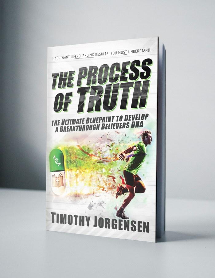 Process of Truth BookCover mock up