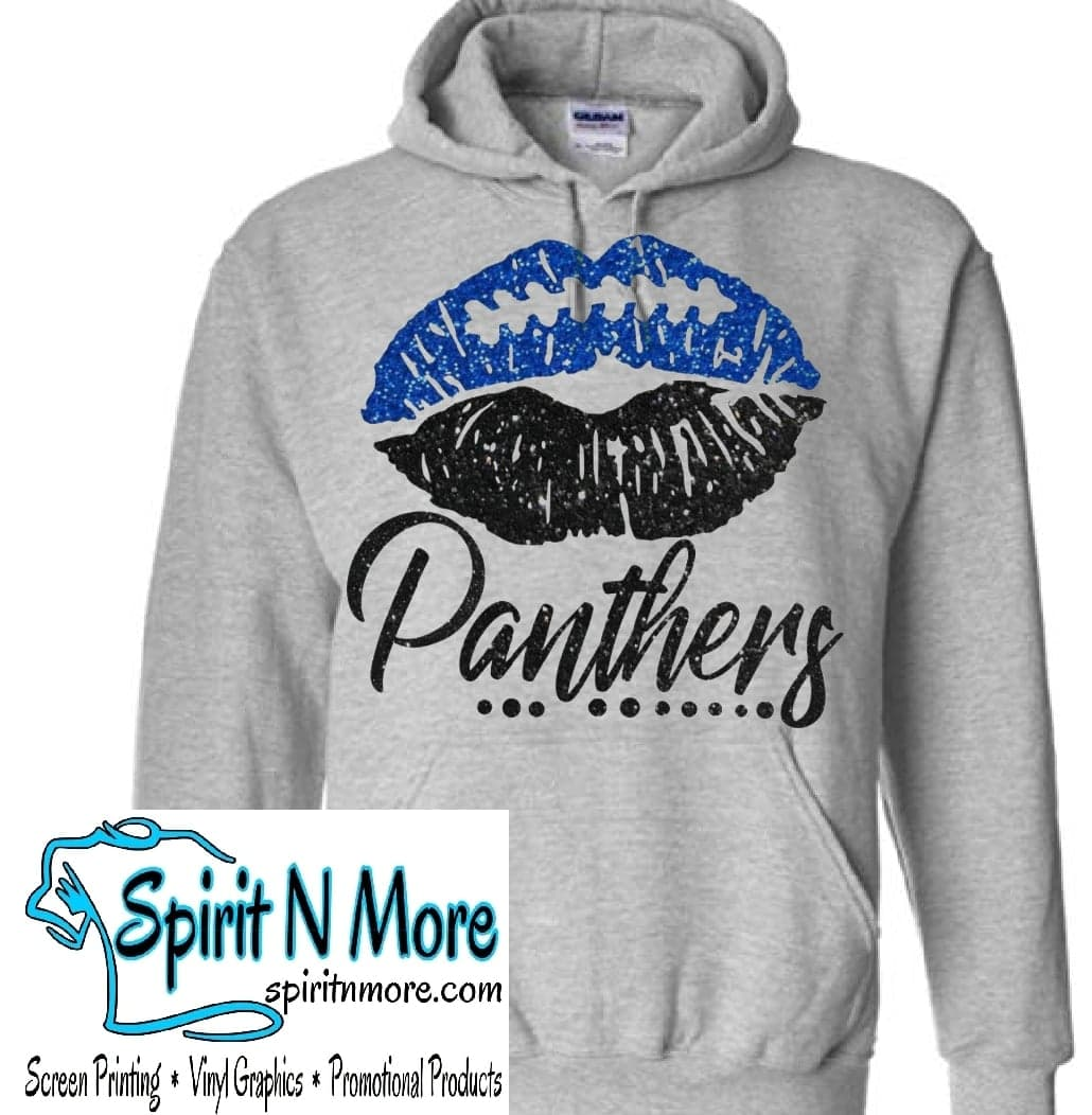 the best attitude bfcd2 4ac24 Panthers Lips- Hoodie