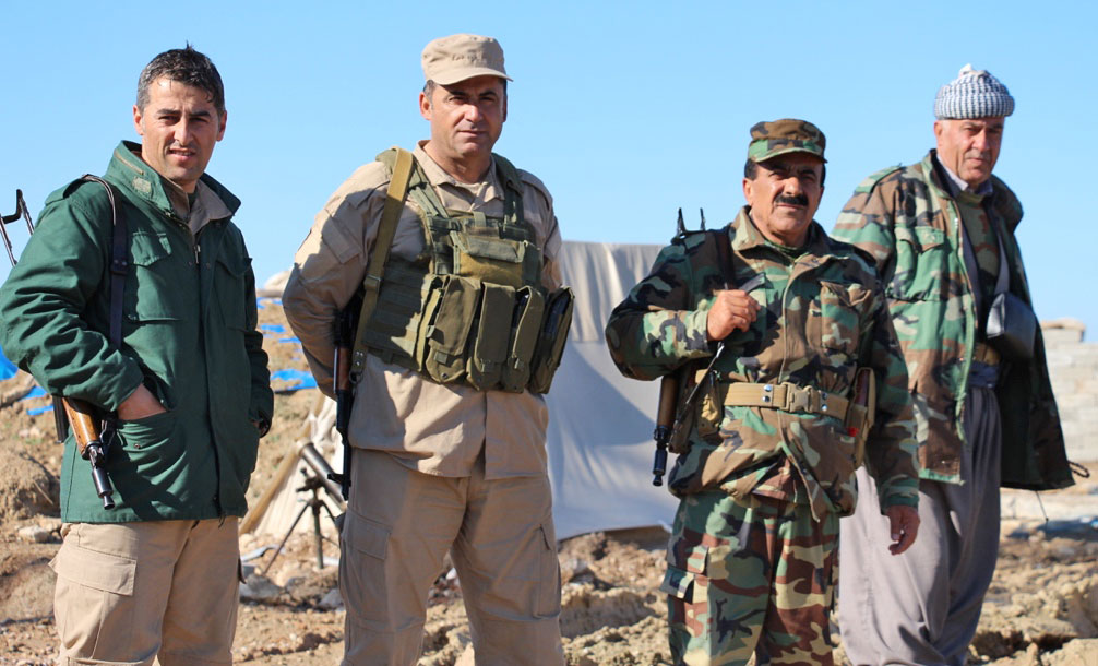 Kurdish peshmerga have been critical in stopping the advance of the Islamic State