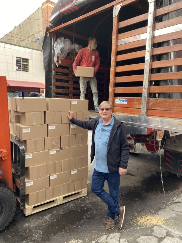 At least 5 truckloads of Bibles and materials recently sent to Venezuela border