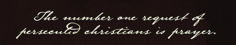Beloved Prayer, A Martyrs' Cross, A Martyrs' Cross Prayer Book, Persecuted Prayer Book, Raynna Myers