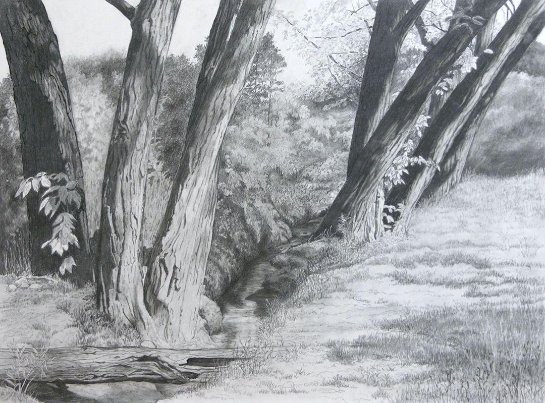 Afternoon at the Creek by Rita Naras