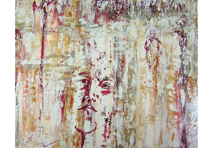 """Wonder by Dawn Miller - acrylic on canvas 30""""x40"""""""