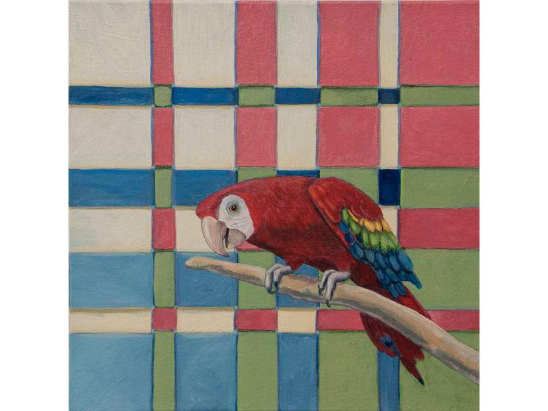 Invitation by Barbara Bickell 12 x 12 inches