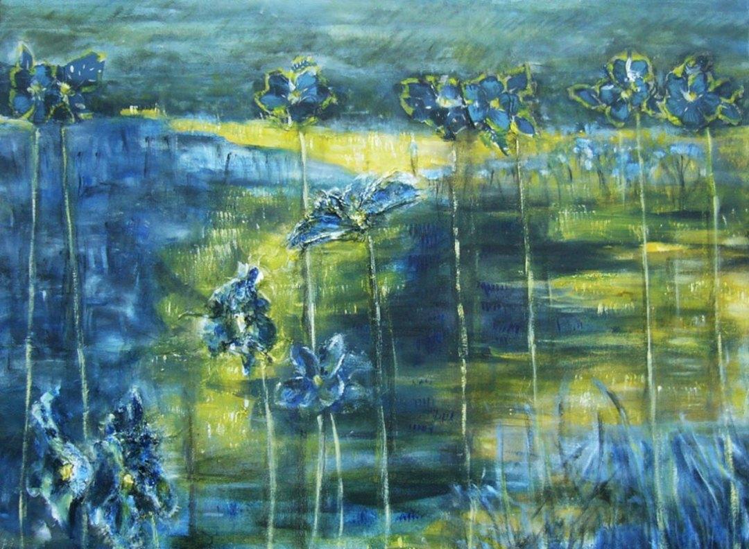 Season in Blue by Rosanne Dolan