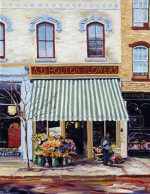 Flowers on Walton by Paivi Marshall