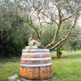 party Wine Barrels for weddings in Tuscany