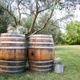 Wine Barrels for weddings in Tuscany