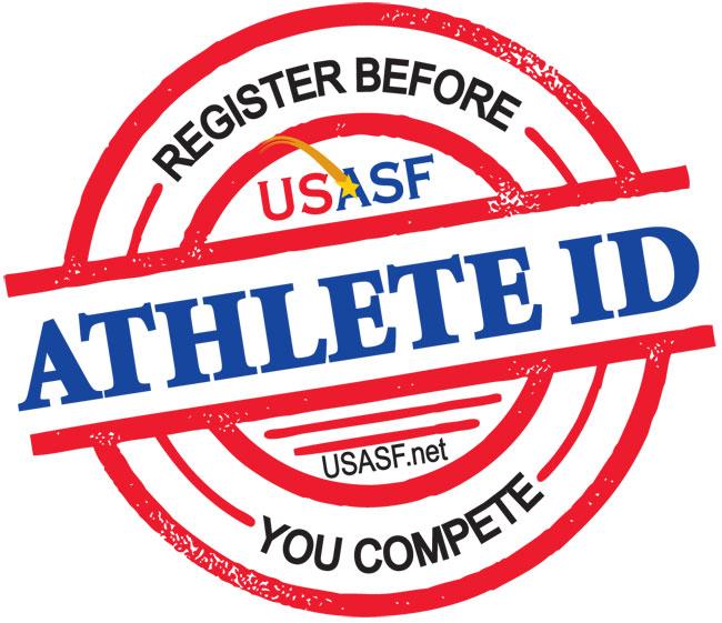 USASF Athlete ID Logo