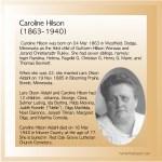 Caroline HIlson (1863-1940)