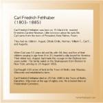 Carl Friedrich Fehlhaber (1803-1885)