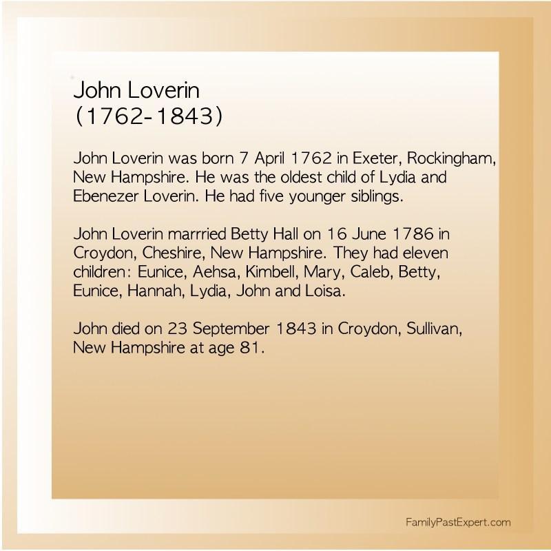 John Loverin (1762-1843)