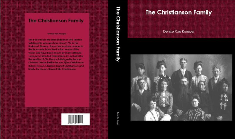 The Christianson Family book cover.