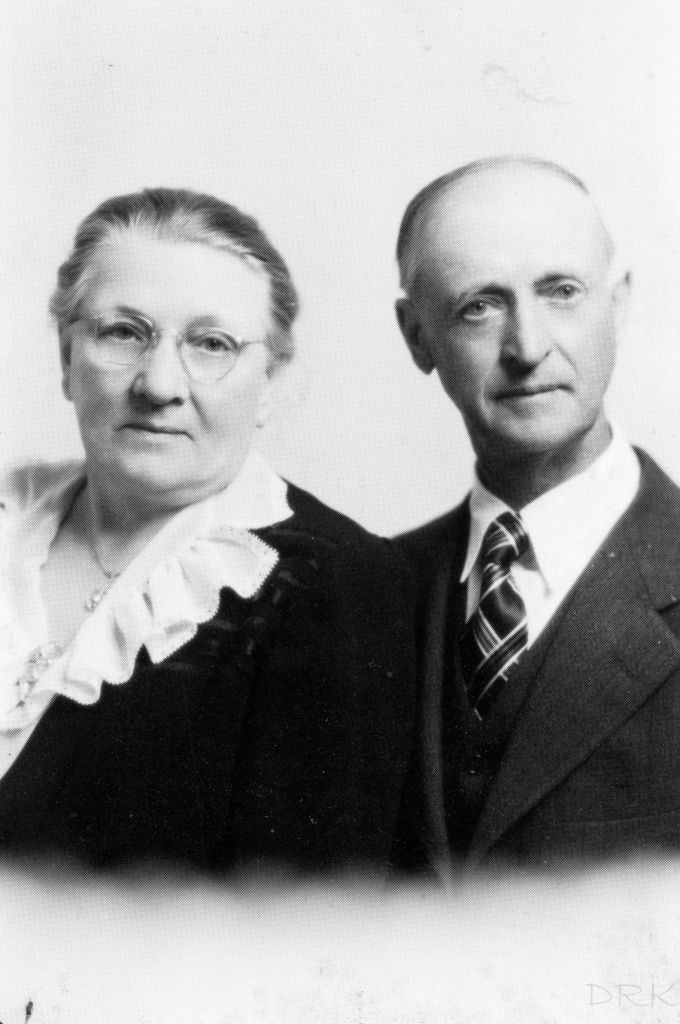 Bertha and C.B. Christianson.