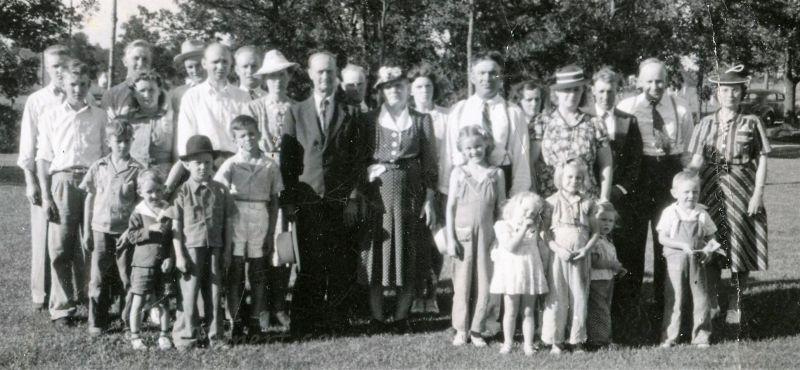 Family reunion ca 1940