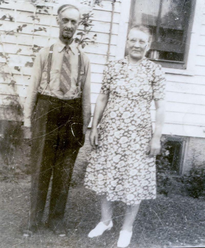 C.B. and Bertha Christianson