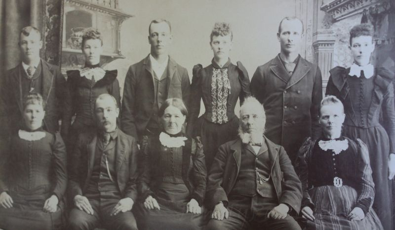 Ludwig and Catherine Stolp family.