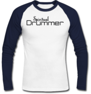 t-shirt manches longues spiritual drummer